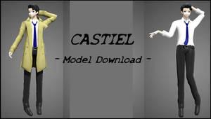 MMD - Castiel - Model DL by katazutsu869