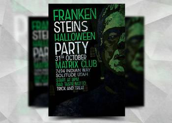 Frankensteins Halloween by Flyermarket