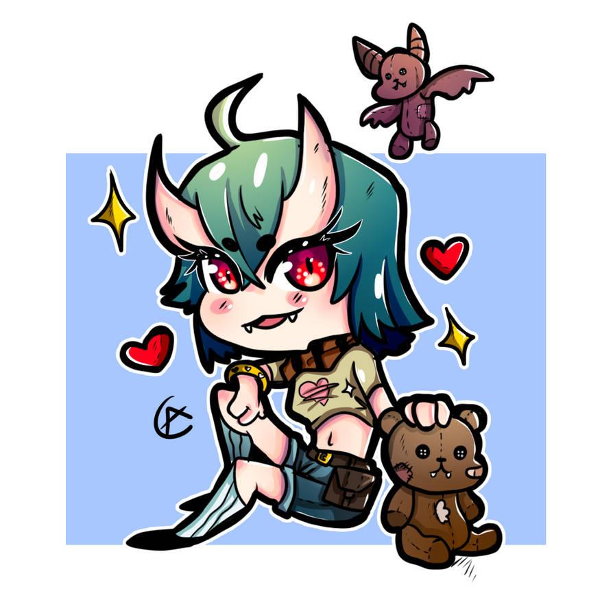 Chibi Demon 2  Adoptable!  10Euro by Warshift