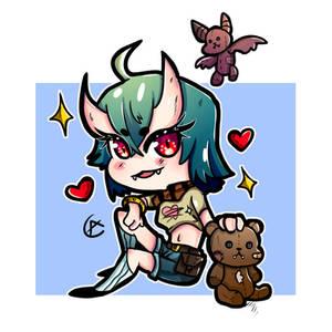 Chibi Demon 2  Adoptable!  10Euro