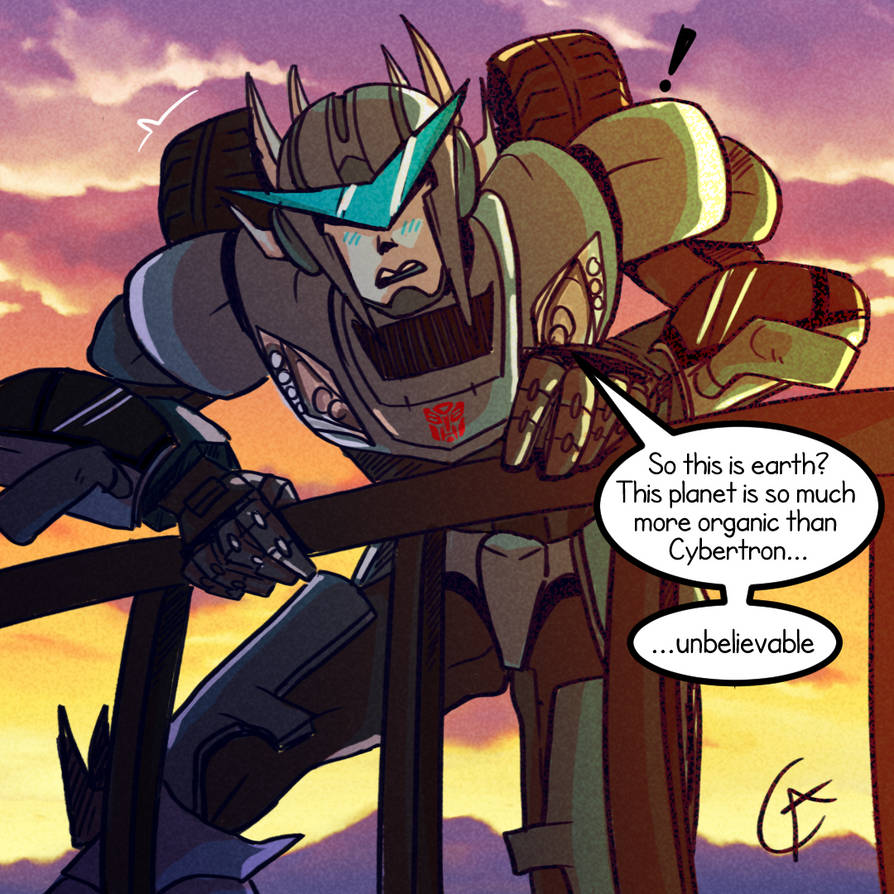 Transformers Oc Whiz by Warshift