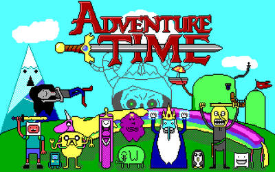 Adventure Time EGA by Amayirot-Akago