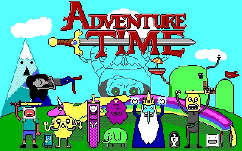 Adventure Time EGA by Amayirot-Akago