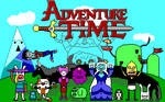 Adventure Time EGA (Fionna and Cake version)