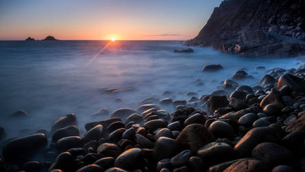 Rocky Sunset by schneids