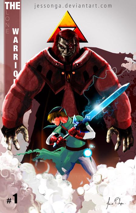 Zelda - Link vs Ganondorf Dragmire card by Jessonga