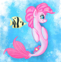 Pinkie Pie seapony by Kamel21