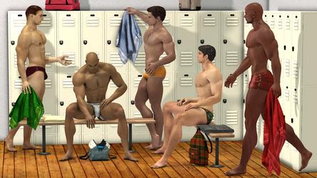 Mens Locker Room