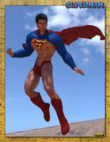GM8 Superman Sexy Summer Suit by KevIzz