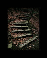 lost stairway by jeni-cek