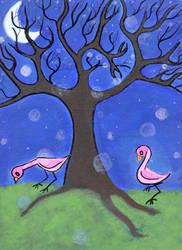 Flamingo Legs. by striffa-raven