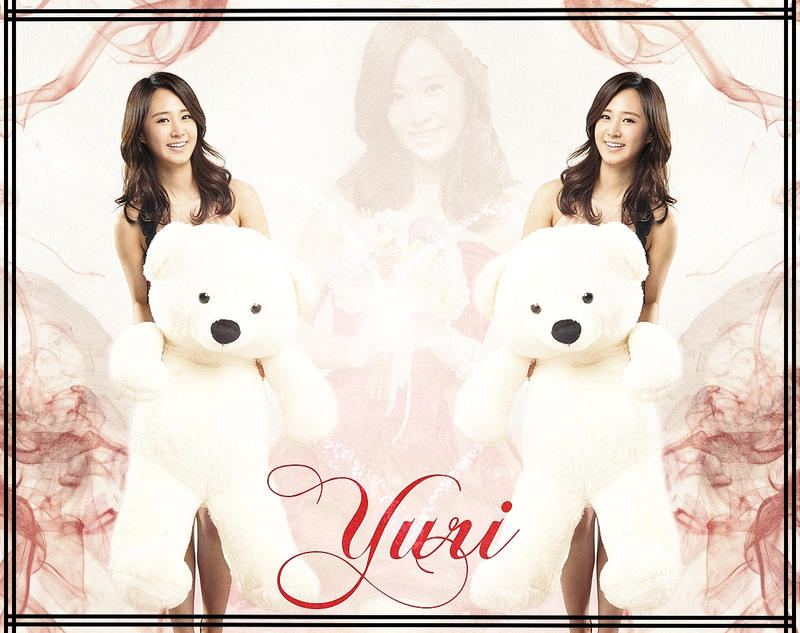 Yuri Ace Bed Smartphone Wallpaper by SNSDLoveSNSD