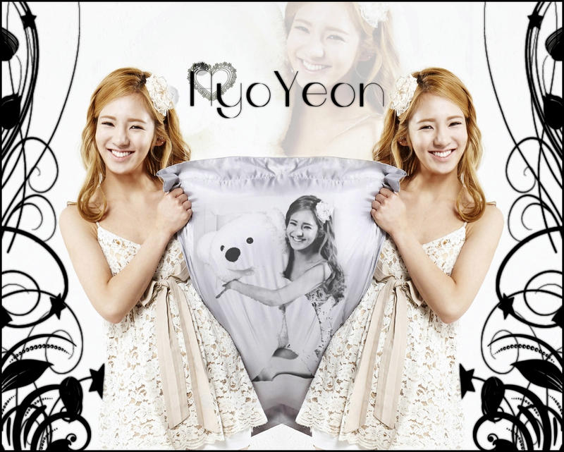 HyoYeon Ace Bed Smartphone Wallpaper by SNSDLoveSNSD