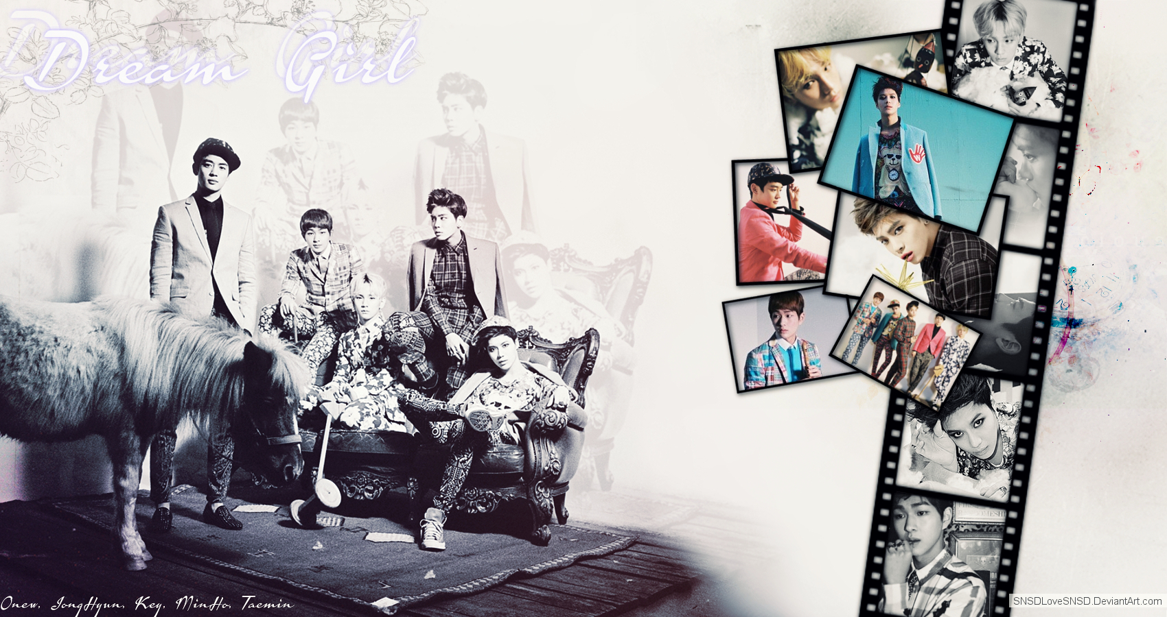 ~.SHINee - Dream Girl.~ by SNSDLoveSNSD