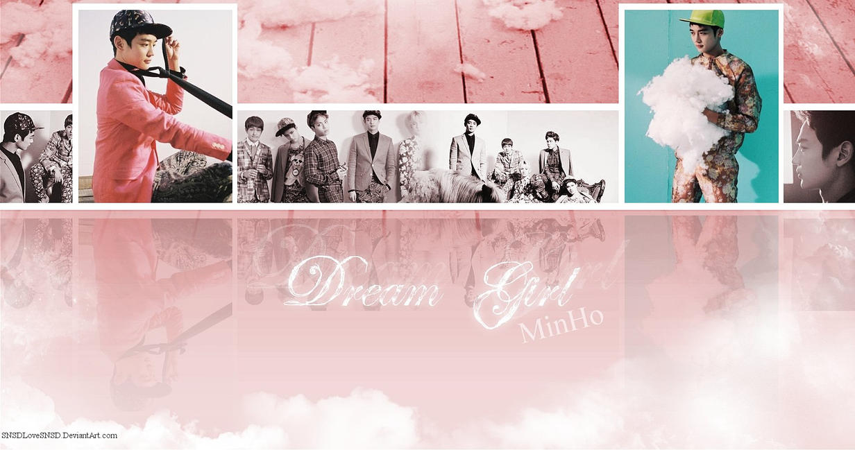 ~.SHINee - Dream Girl l Solo Wallpaper : MinHo.~ by SNSDLoveSNSD