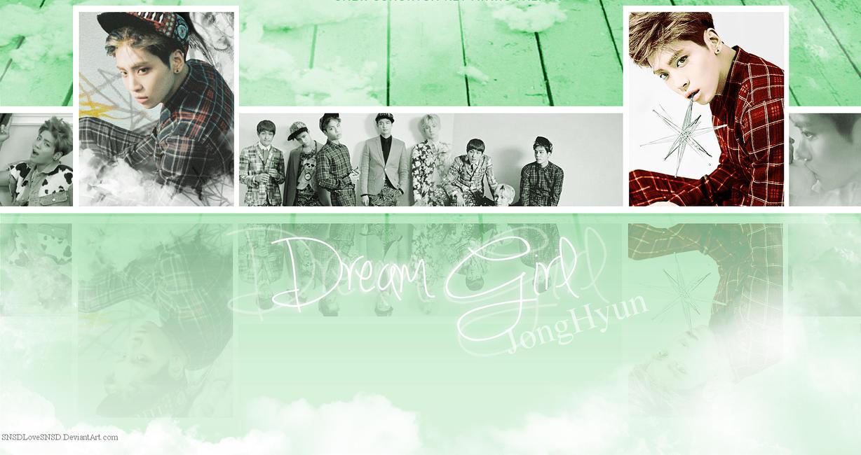 ~.SHINee -Dream Girl l Solo Wallpaper : JongHyun.~ by SNSDLoveSNSD