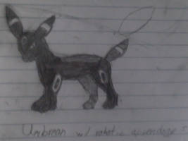 Umbreon...with some Robotic Parts by Isidro54321