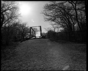 Old Alton Bridge by annunaki