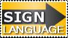 signlanguage stamp by annunaki
