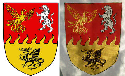 Zsofia Jasik crest by csandrea