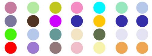 Colour palettes by meiyues-scrap-acc