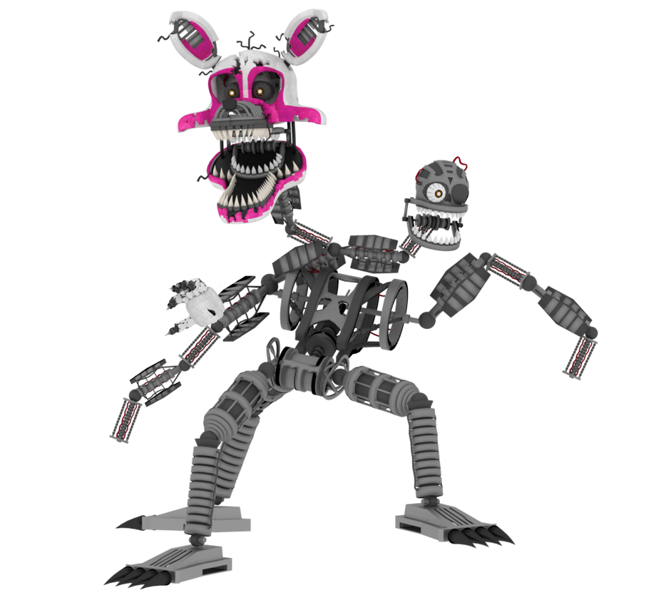Nightmare Mangle By A1234agamer On DeviantArt