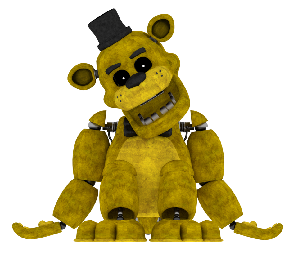 Golden Freddy V4 by a1234agameer on DeviantArt