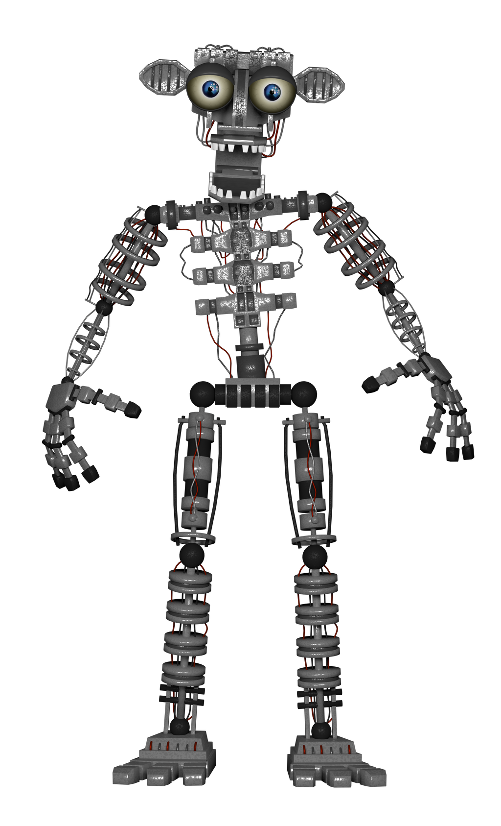 Fnaf 2 Endoskeleton By A1234agameer On Deviantart