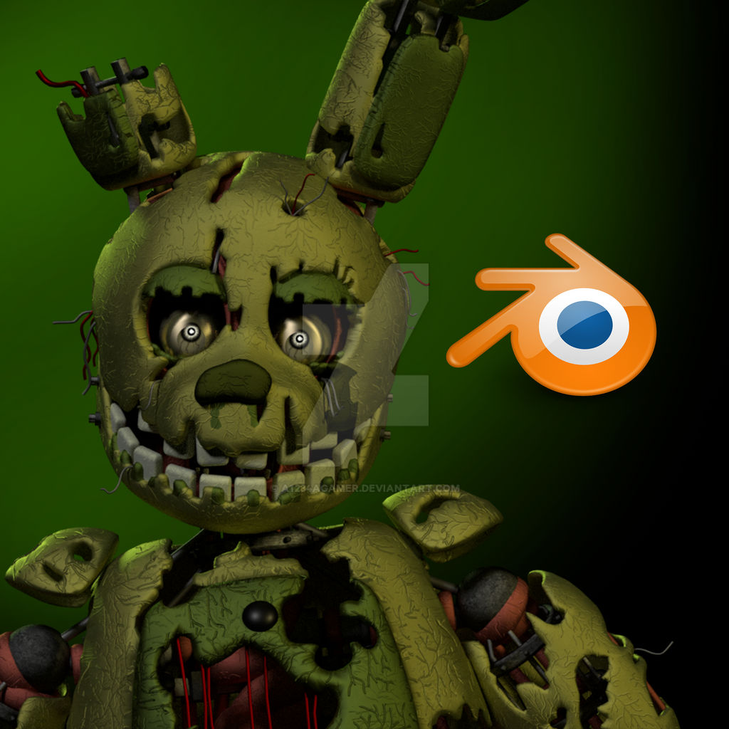 Springtrap Release (Read Description) By A1234agamer On