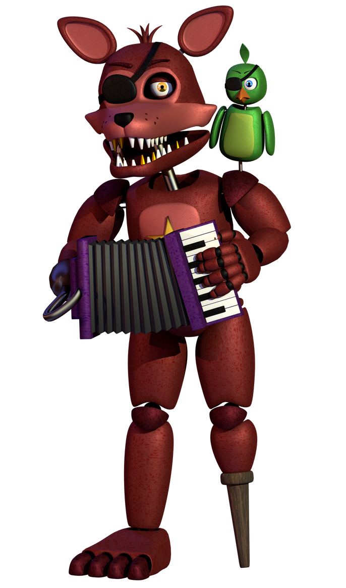 Rockstar Foxy By A1234agamer On DeviantArt