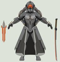 Warrior Servant - Blade Master by Arbiter376