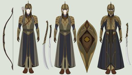 LOTR OC - Elves of Amon Andune