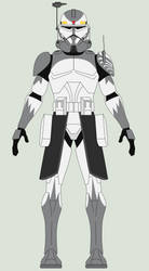 Star Wars - Commander Wolffe by Arbiter376