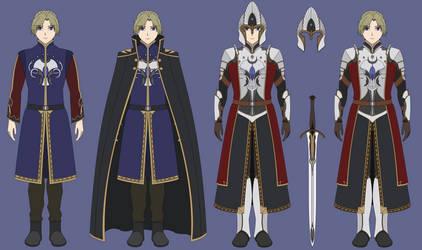Fantasy King Concept Art