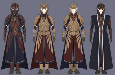 Fantasy High Elven Warrior Concept Art