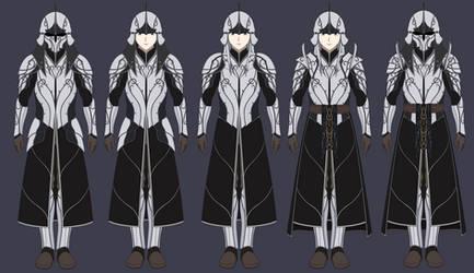 Fantasy Winter Elven Warrior Designs