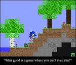 Sonic in Minecraft