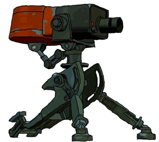 Level 1 Sentry by zeldafreak008