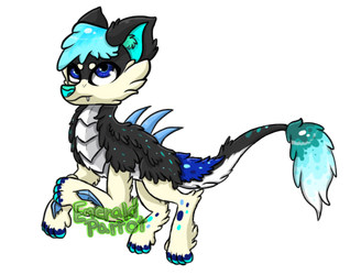 (CLOSED) DTA Adoptable! [Winner Chosen!] by EmeraldParrot