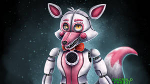 Funtime Foxy by EmeraldParrot