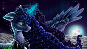 Lunar Moon by EmeraldParrot