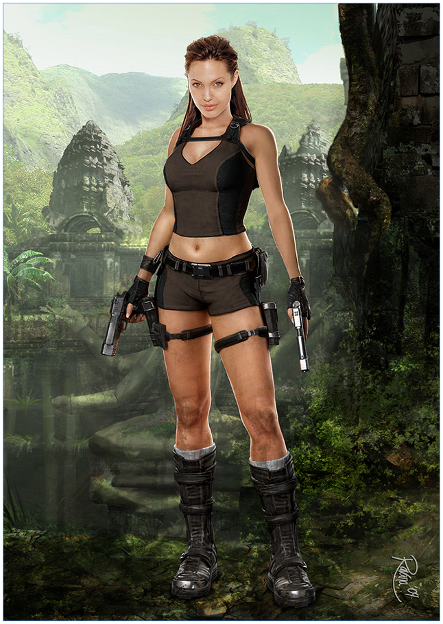 Lara Croft Hairstyle Now In Salons Page 3 Wwwtombraiderforumscom