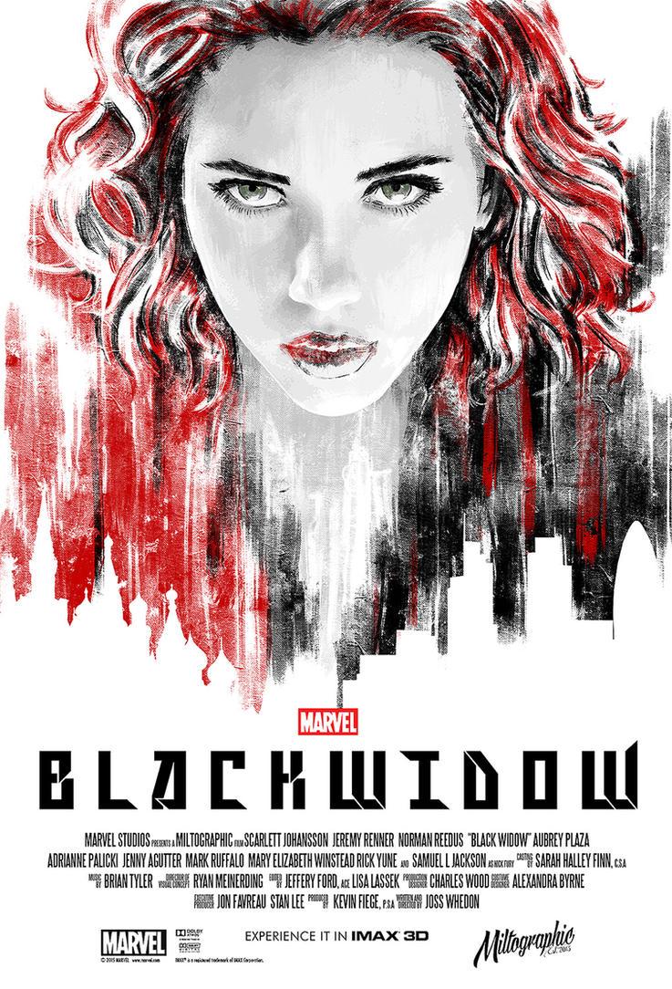 Black widow baby by miltographic on deviantart