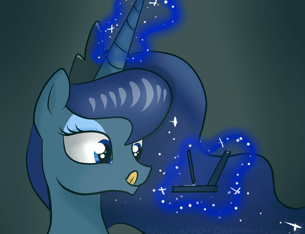 Luna :3 by Balloons504