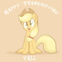 Happy Thanksgiving, everypony! by Balloons504