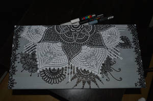 Mistic Grey mandala by TulasiStocker