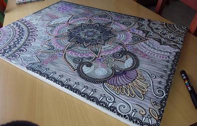 Mandala bohemian by TulasiStocker