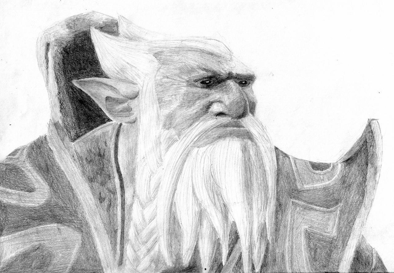 lone druid from dota 2 by agentburn on deviantart