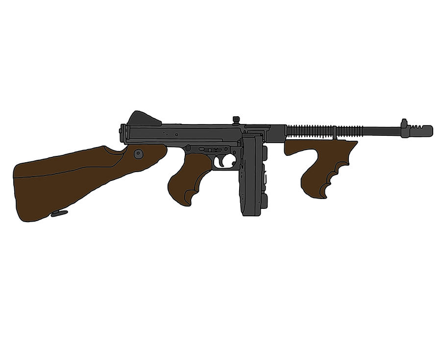 thompson sub machine gun