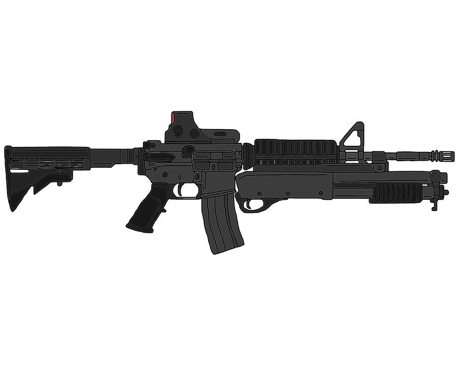 M4A1 Carbine by MrOshimida27 on DeviantArt